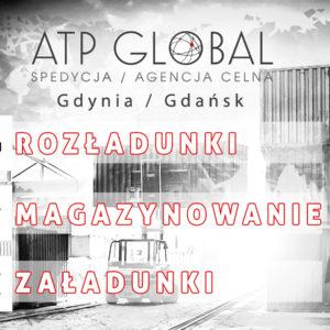 Załadunki i magazynowanie Gdańsk-Gdynia